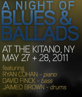 The Joe Locke Quartet - live at the Kitano, NY - May 27 & 29, 2011